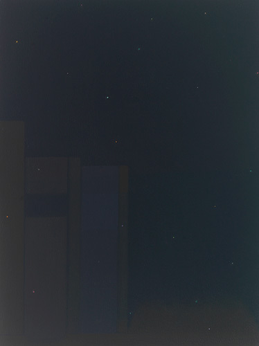 The Painter's Other Library is the Poet's Other Night Sky, No. 16, 2010