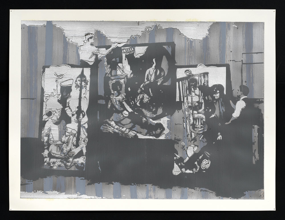 Expressionist Installation (Study), 2017