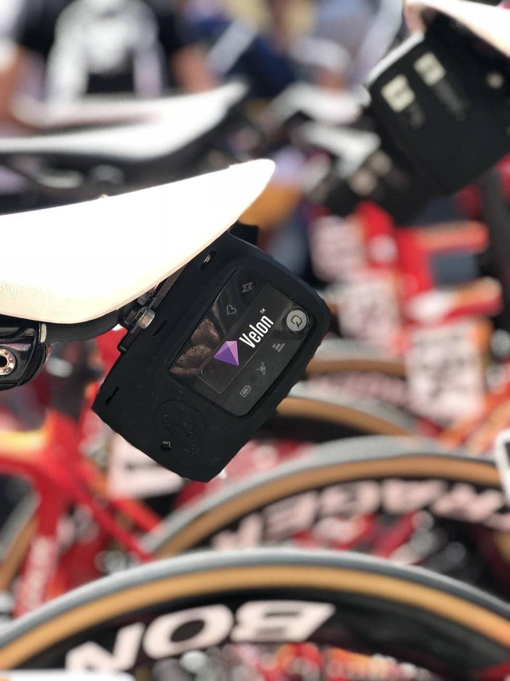 Tracking devices send live data during races