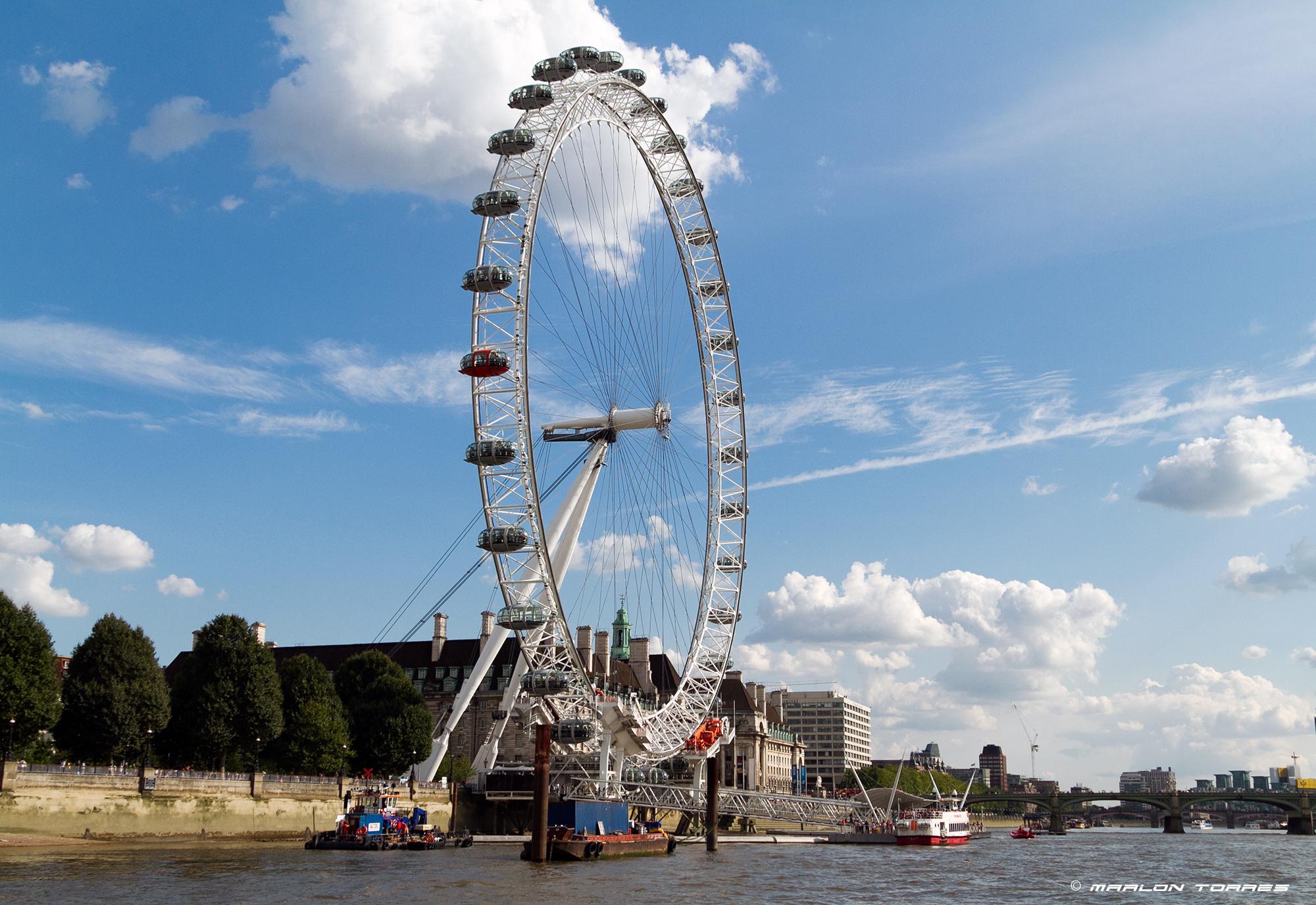 The London Eye. Photo: Marlon Torres