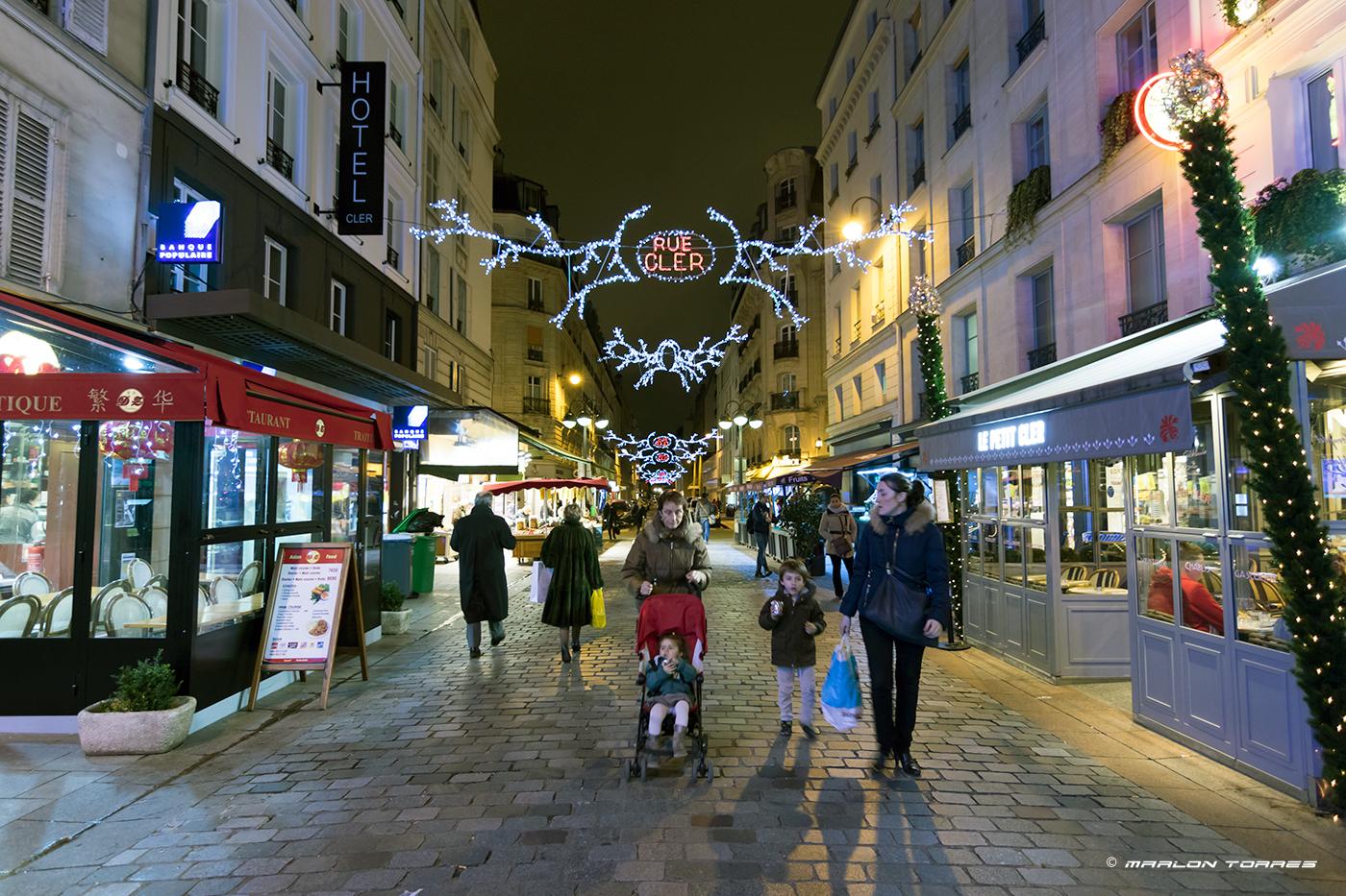 Rue Cler, Paris, France. Photo: Marlon I. Torres