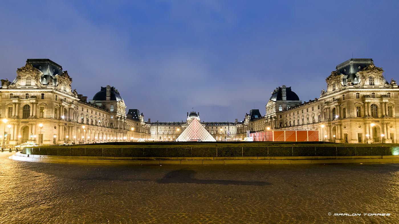 Louvre Pyramid, Paris, France. Photo: Marlon I. Torres