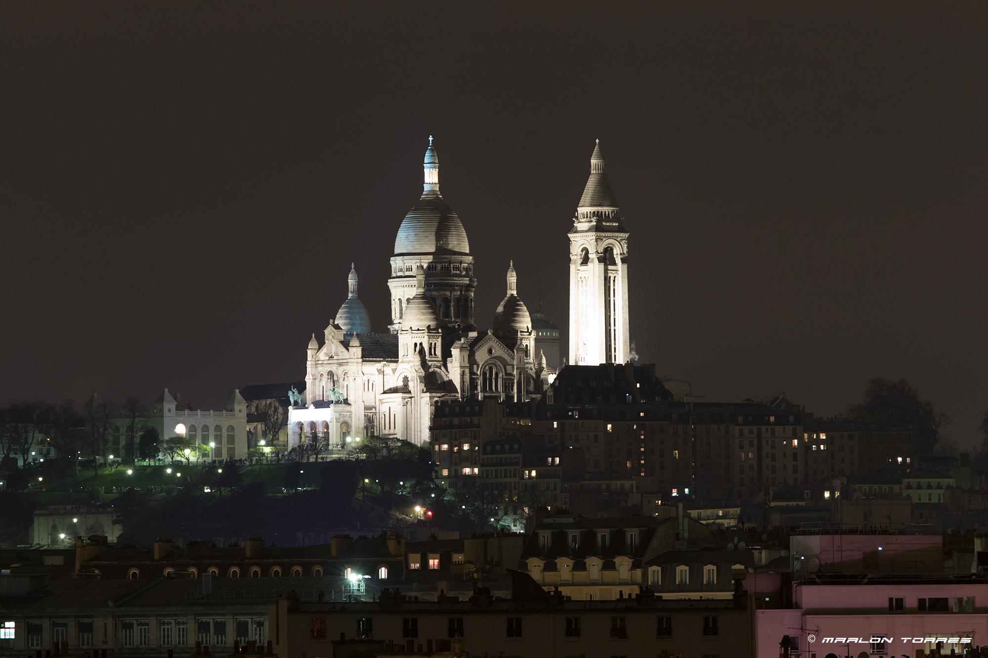 Sacre-Cœur-night