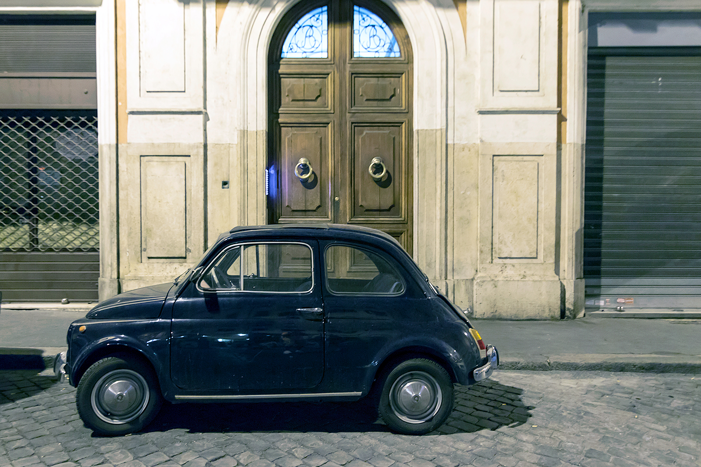 Fiat in Rome, Italy. Photo: Marlon I. Torres