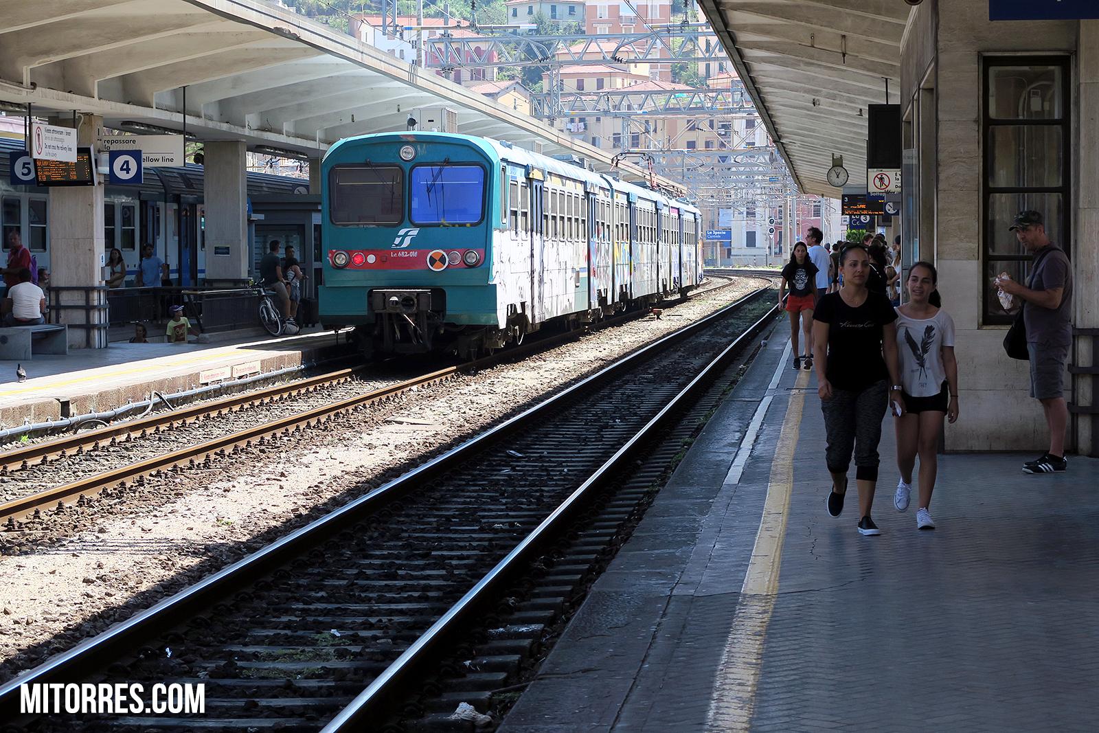 La Spezia train station. Italy Photo: Marlon I. Torres