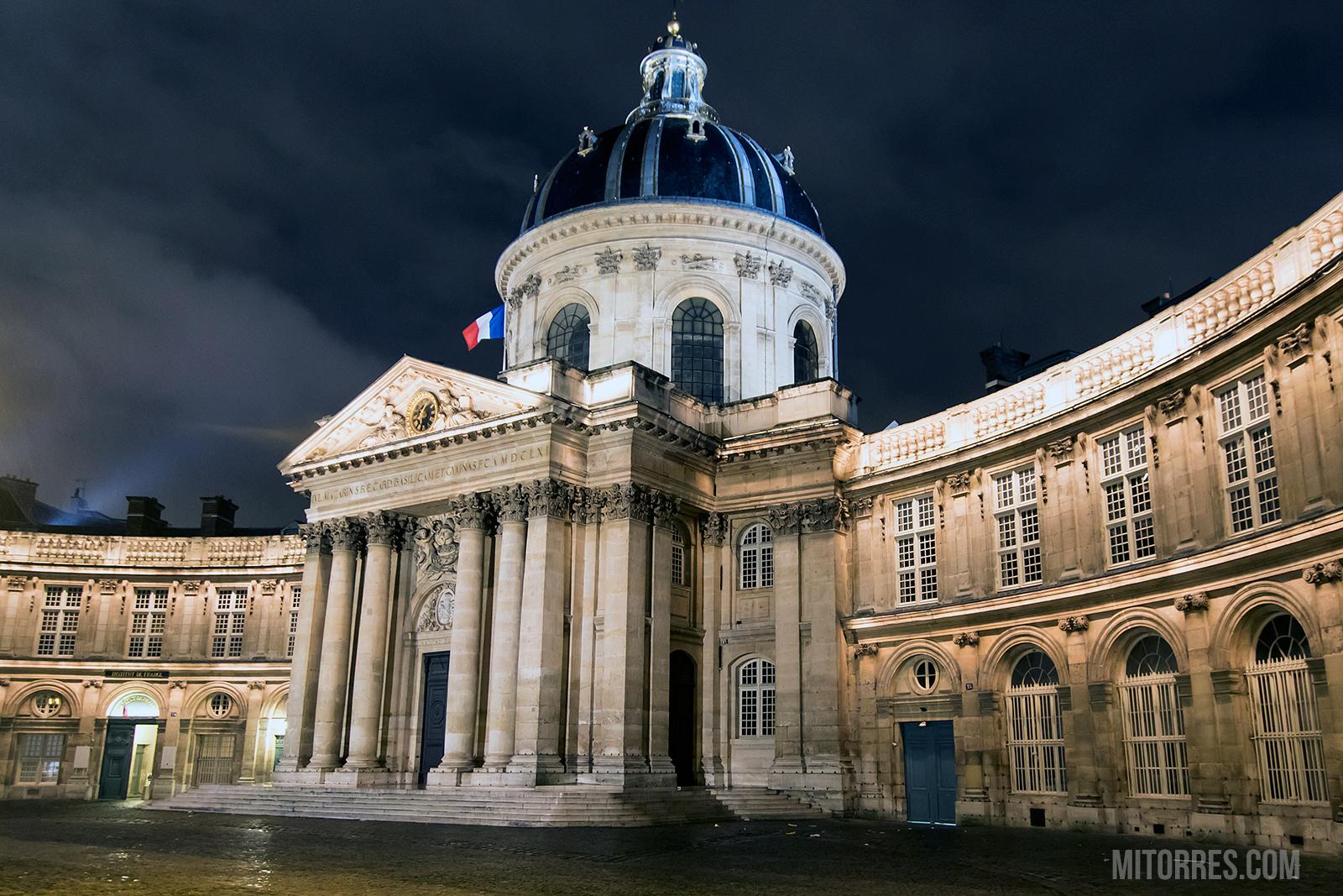 Institut de France in Paris. Photo: Marlon I. Torres
