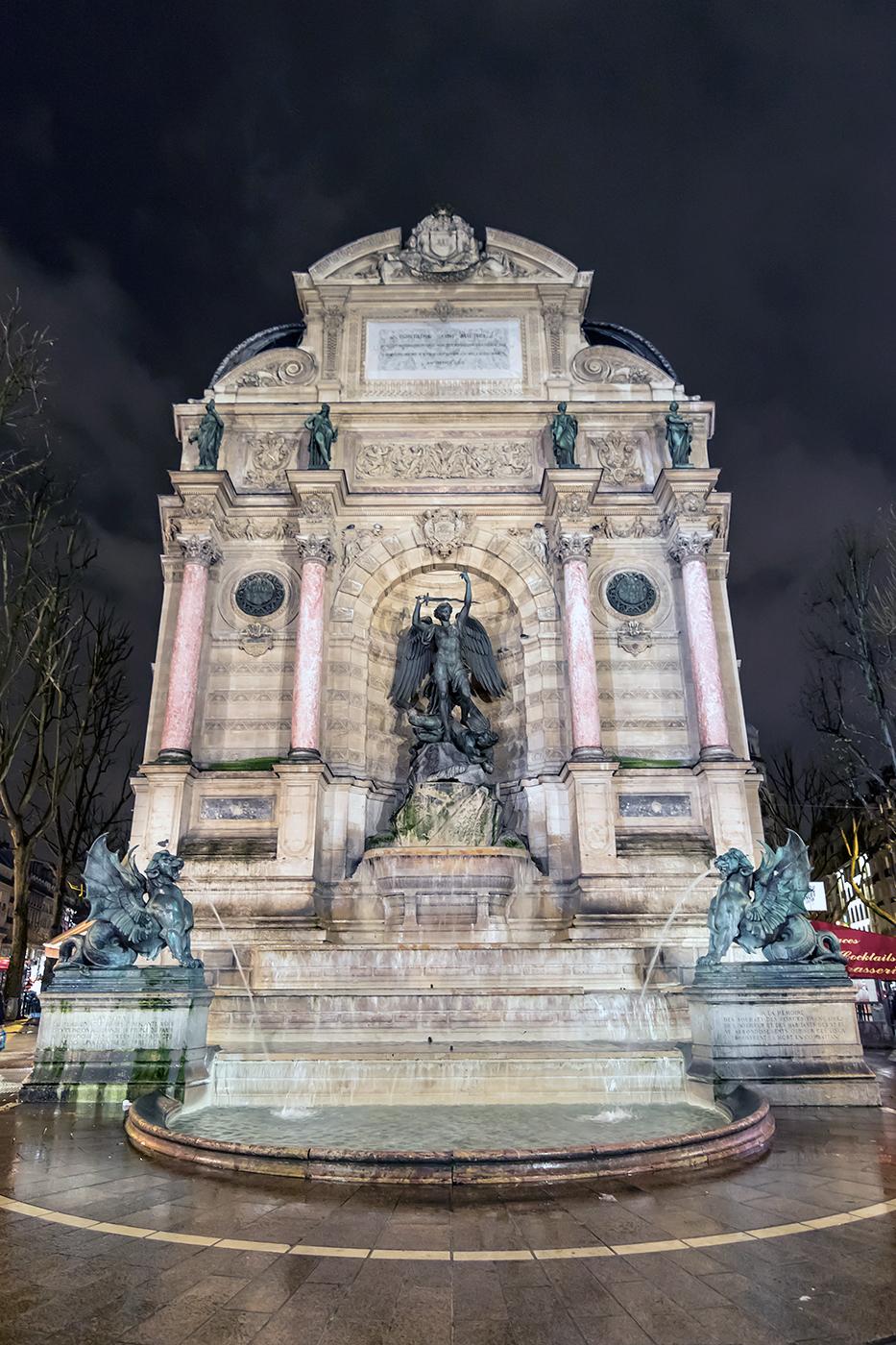 The-Fontaine-Saint-Michel