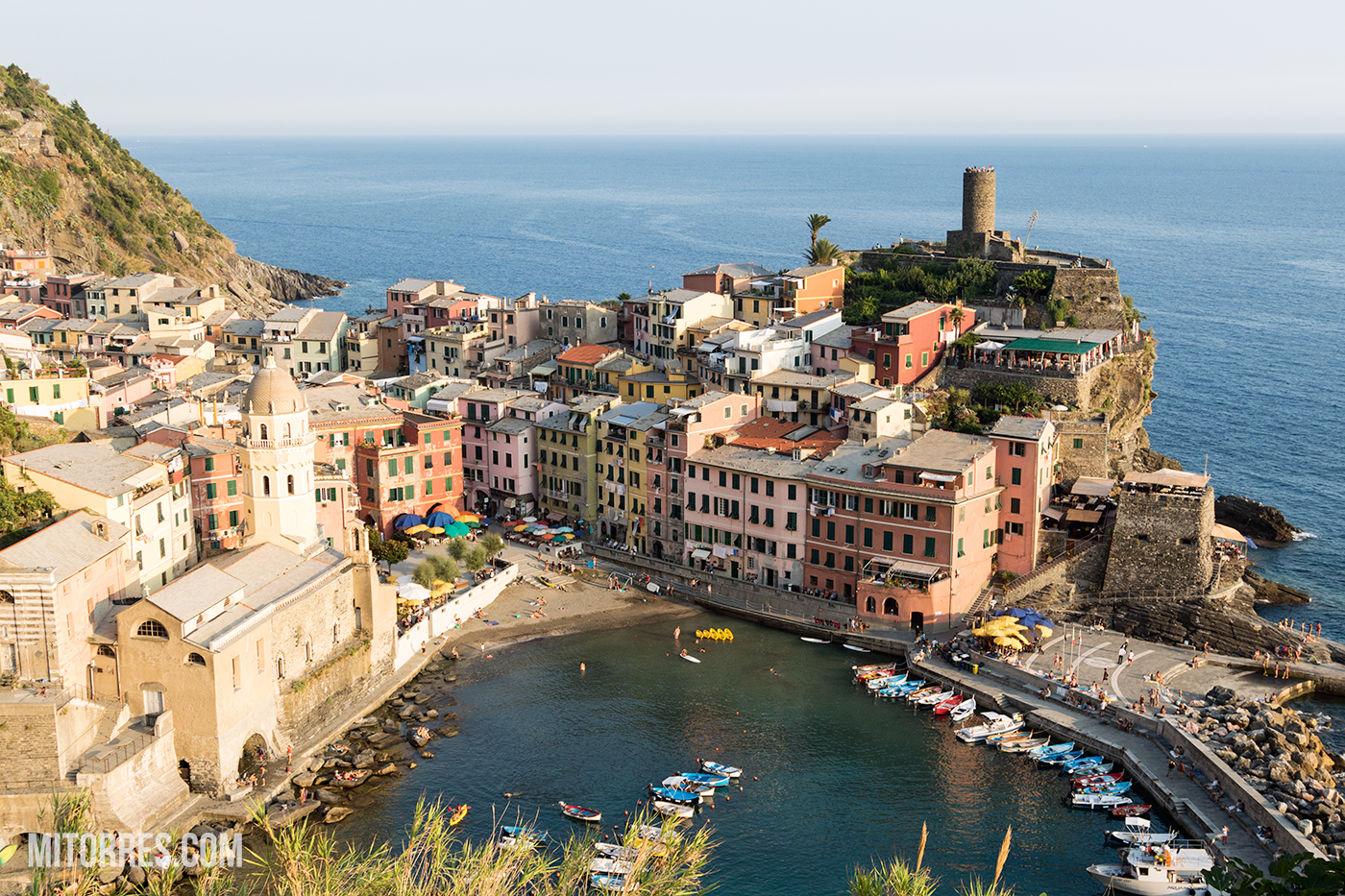 Summer time in Vernazza, Cinque Terre, Italy. Photo: Marlon I. Torres