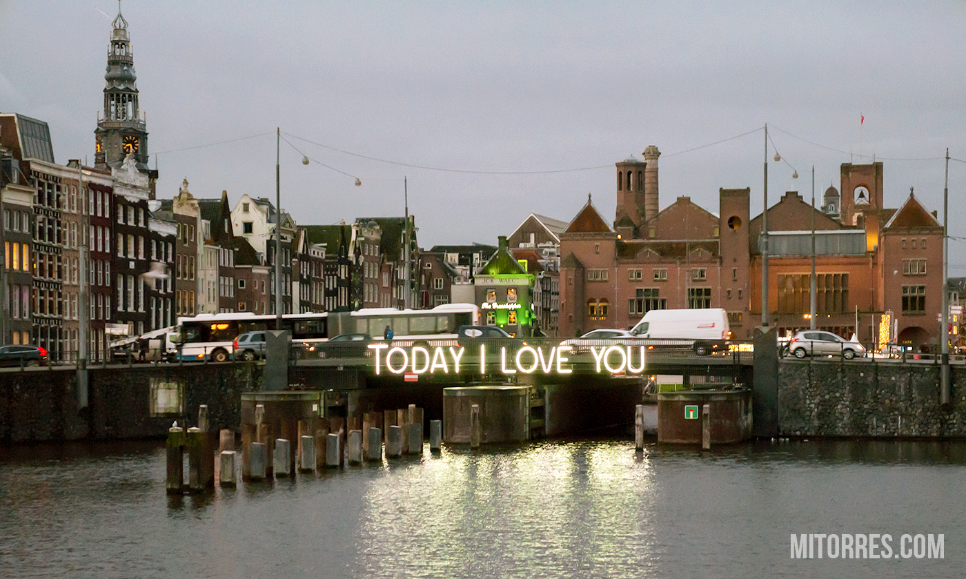 Today I Love You! Amsterdam, Netherlands.