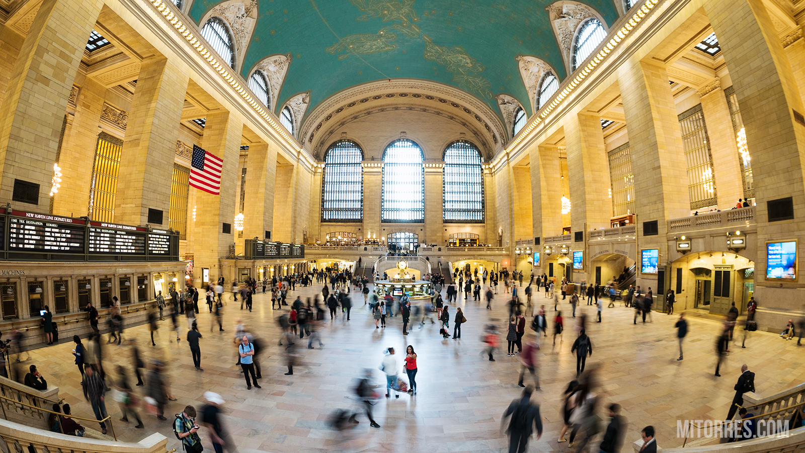 Grand Central Station, New York City. Photo: Marlon I. Torres