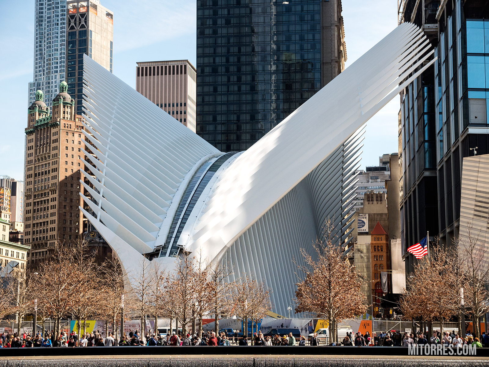 The Oculus in New York City, New York. Photo: Marlon I. Torres