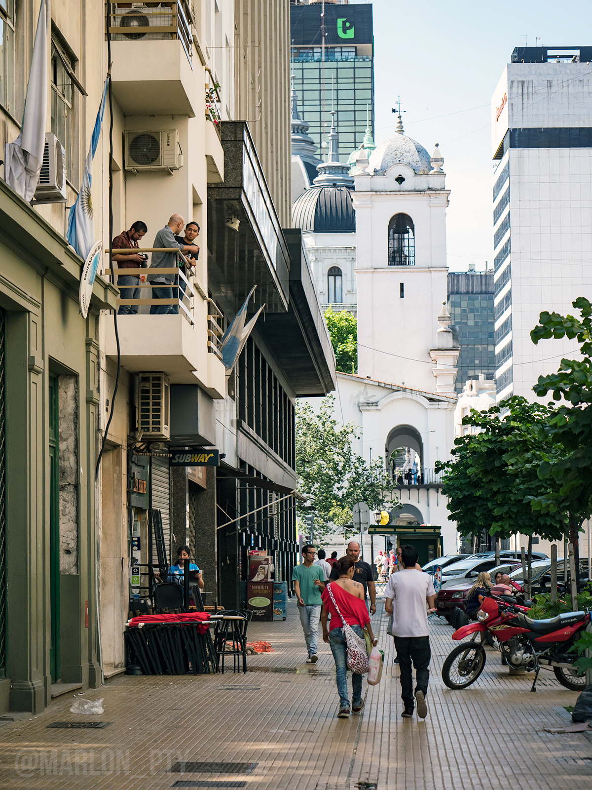 Streets of Buenos Aires, Argentina. Photo: Marlon I. Torres