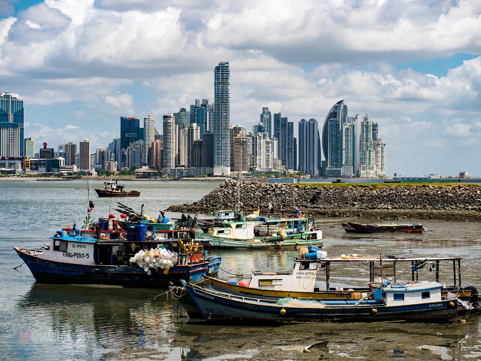 Fisherman boats, El Apache and Niña Mileidi. Photo: Marlon I. Torres
