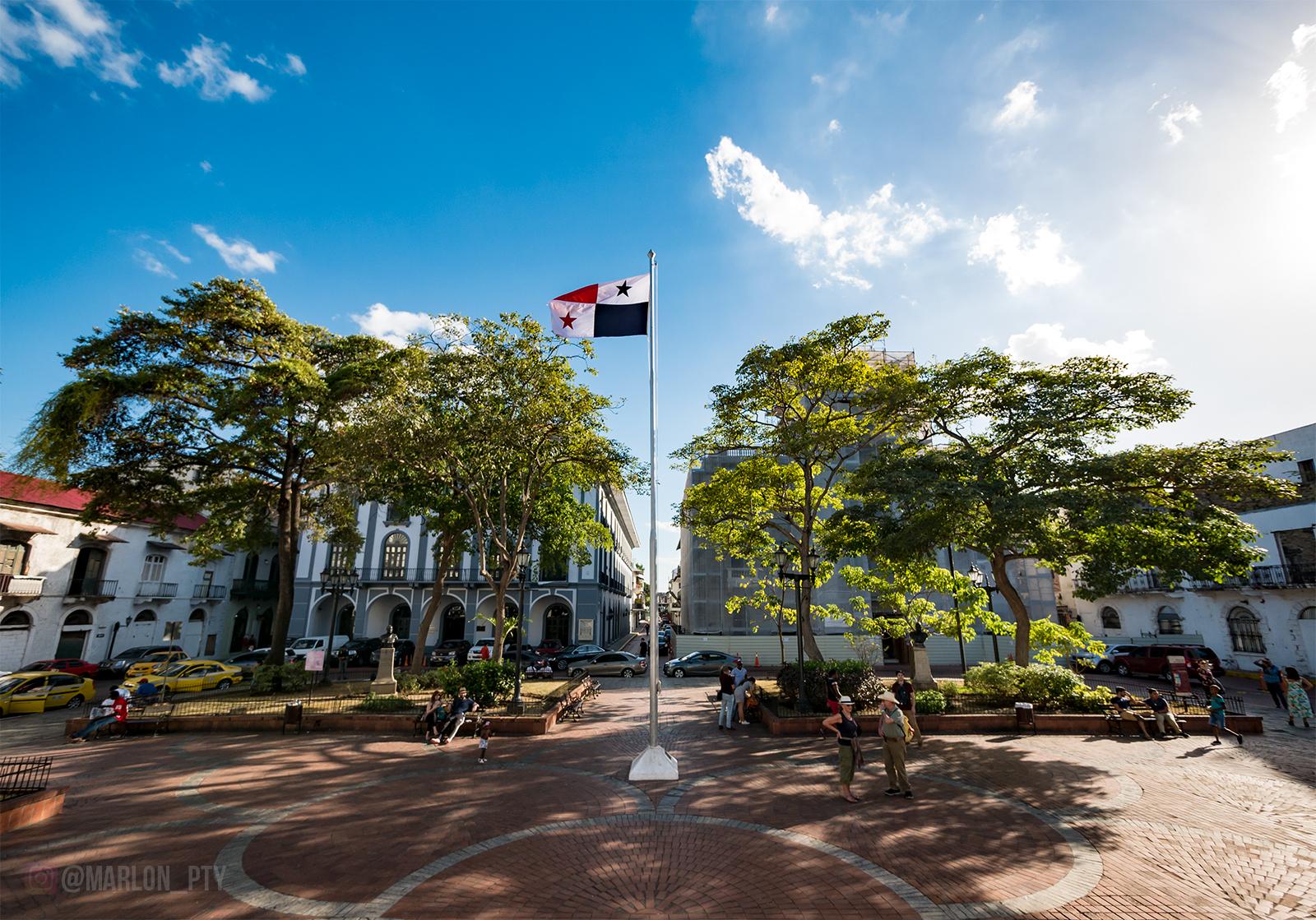 Plaza de la Independencia, Casco Viejo, Panamá. Photo: Marlon I. Torres