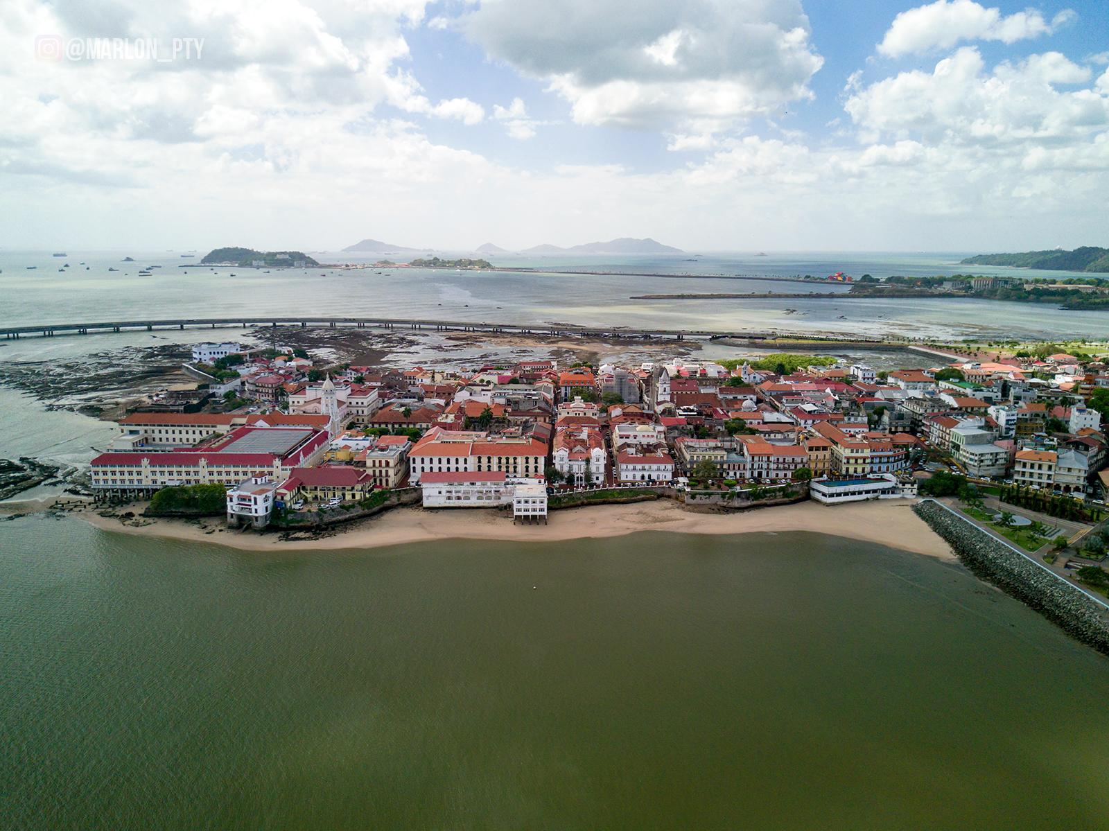 Bird's eye view of Casco Viejo, Panamá. Photo: Marlon I. Torres