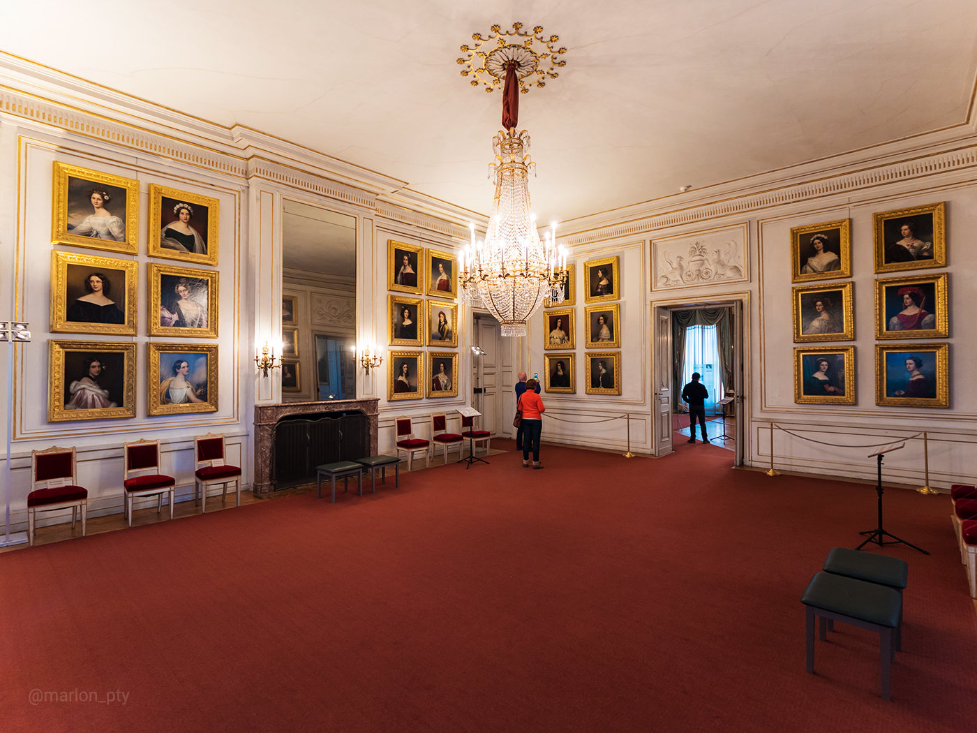 The Galleries of Beauties in the Nymphenburg Palace. Photo: Marlon I. Torres