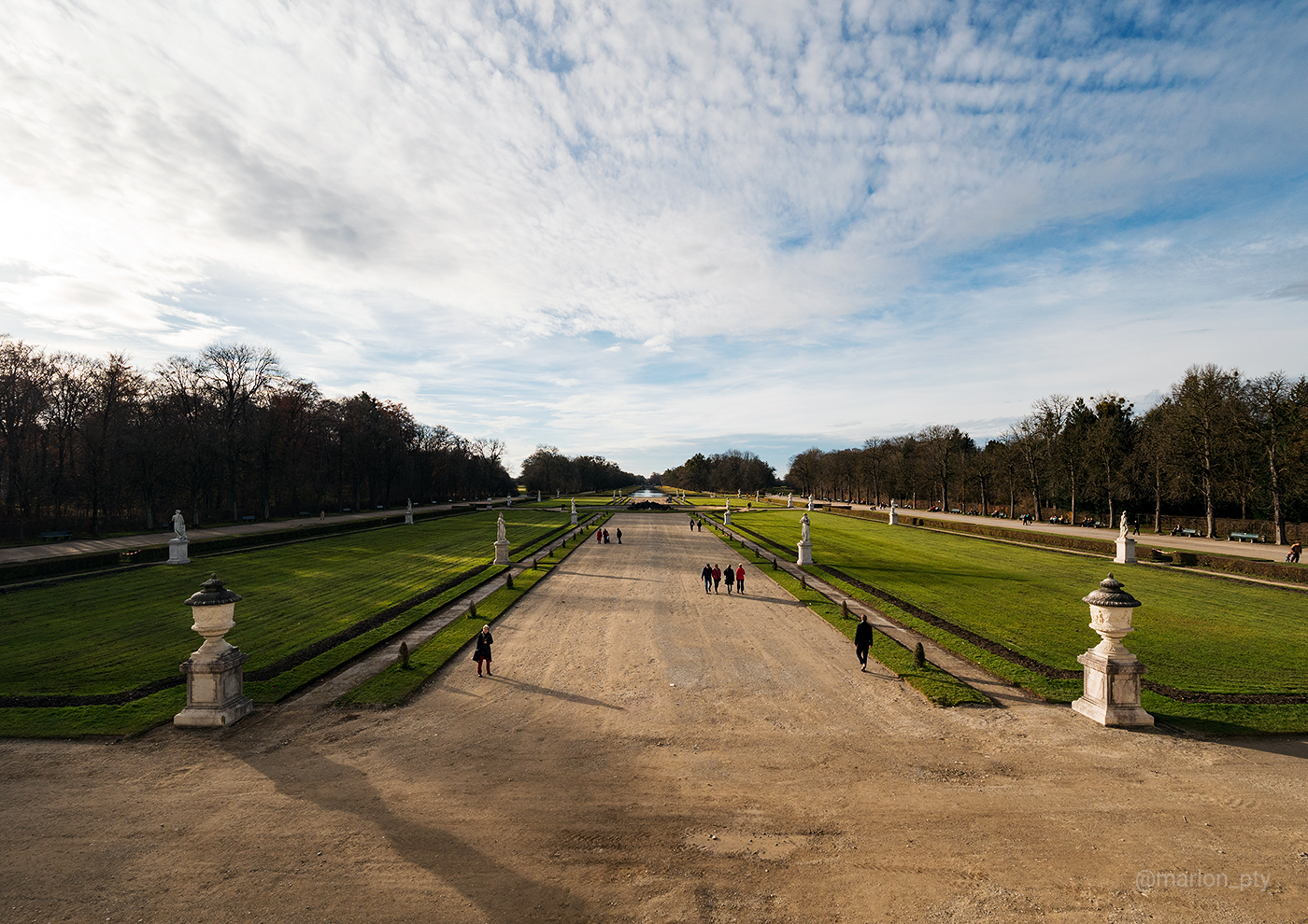 A view of the Great Parterre at the Nymphenburg Palace. Photo: Marlon I. Torres