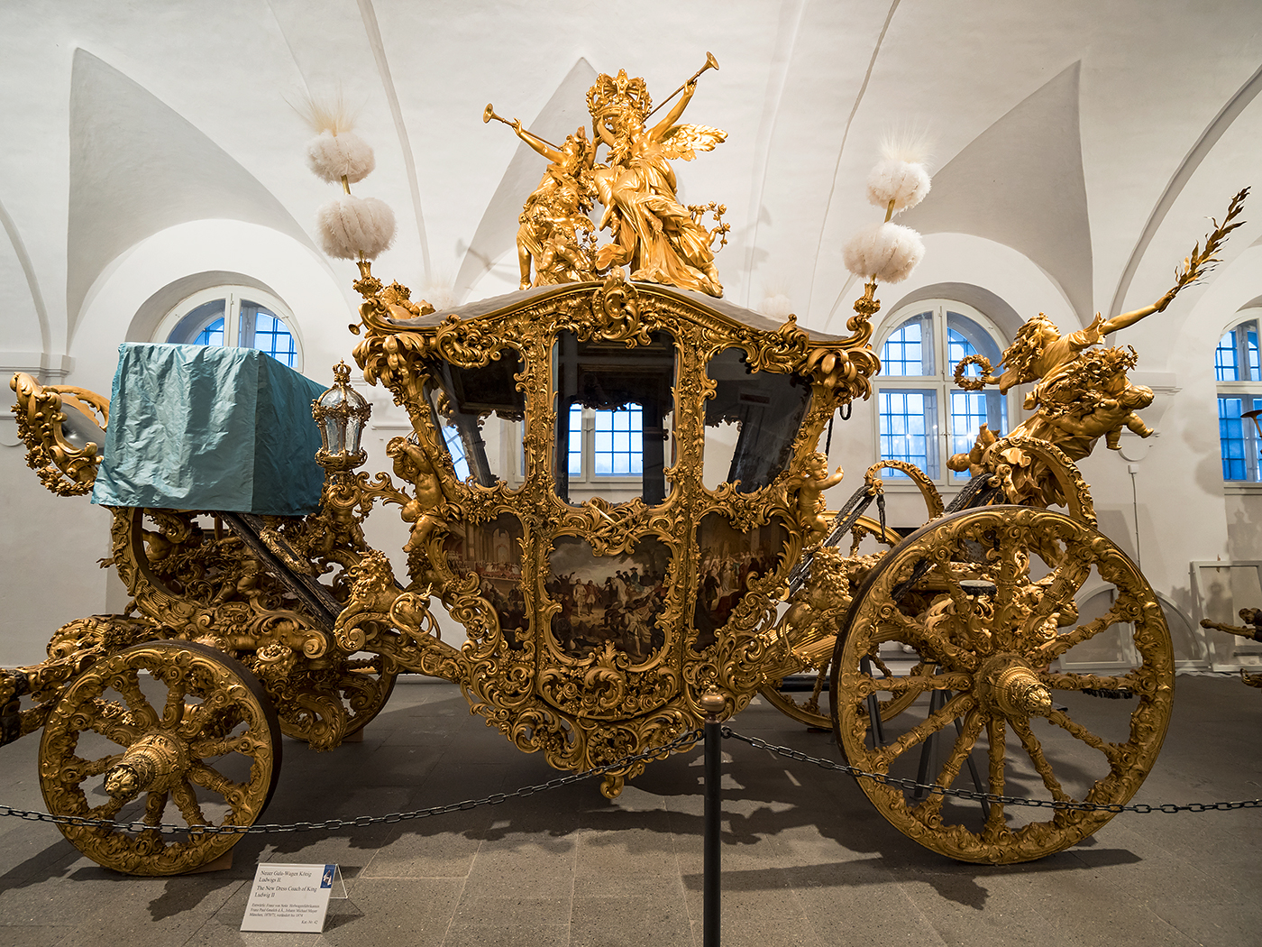 The New Dress Coach of King Ludwig II. Photo: Marlon I. Torres