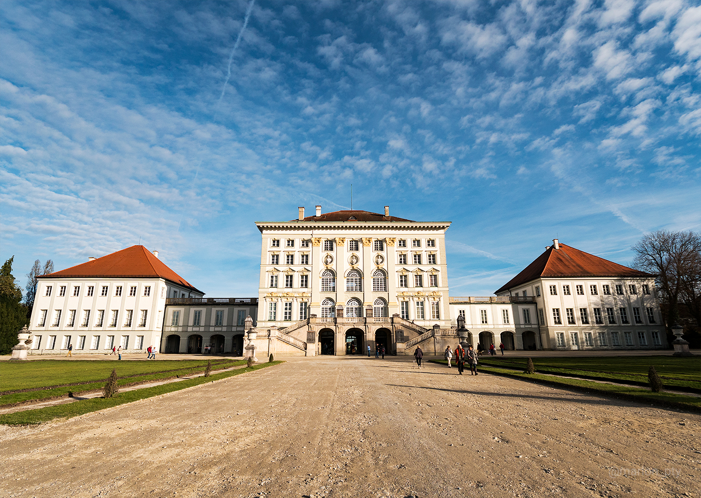 View of the rear of the Nymphenburg Palace. Photo: Marlon I. Torres
