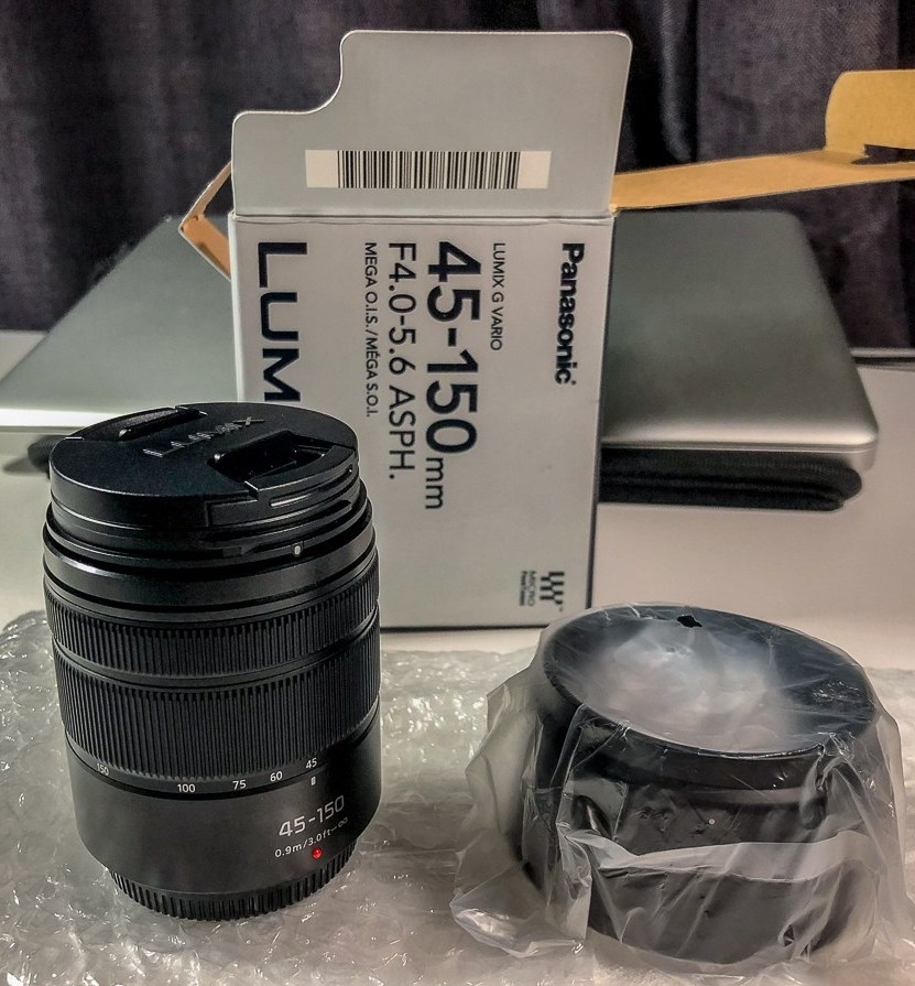 lumix 45-150mm lens