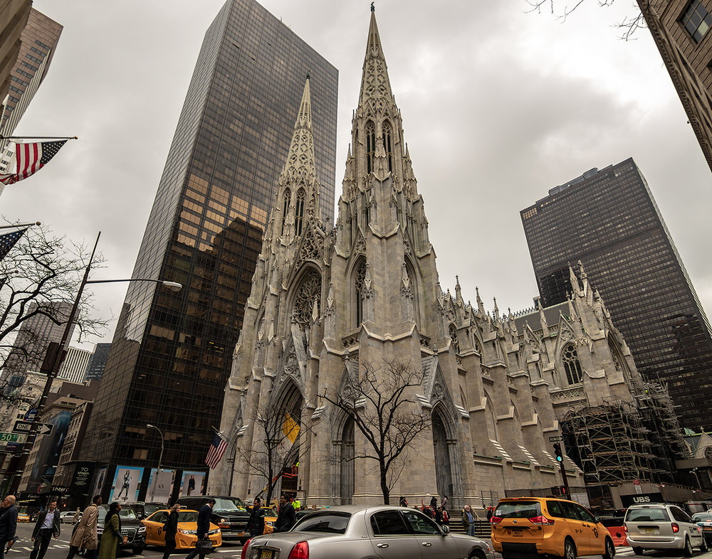 Saint Patrick's Cathedral (April 2015)