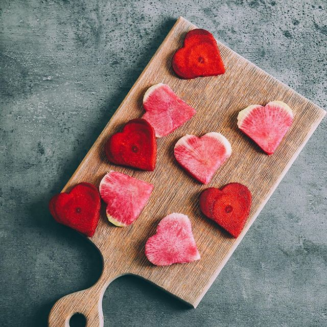 Sending love to all of our farmers, customers, friends, supporters and followers! Happy Valentine's Day from Hudson Valley Harvest ❤️ #ourheartbeetsforyou