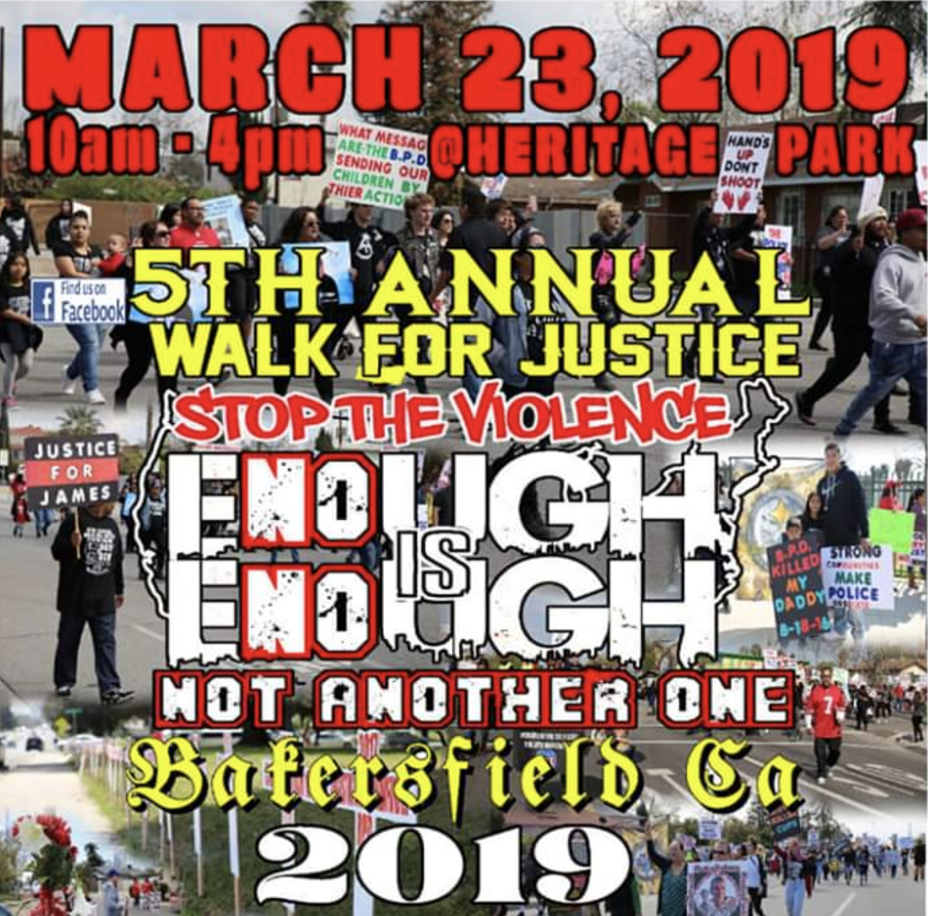 Bakersfield Walk for Justice — Justice for California