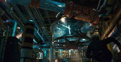 Studio:  Paramount Pictures   Director:  J.J. Abrams   Producer:  Alex Kurtzman   VFX:  Digital Domain  Visual FX completed by Digital Domain under the leadership of John Textor.