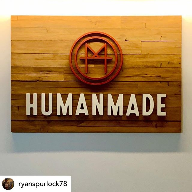 Thank you @jacquihendricksdesign for our beautiful sign!!!! @withrepost • @ryanspurlock78 I'm obsessed with our Logo! Thank you to Jax Design. @humanmadesf #makersgonnamake #maker #makersmovement #designer #branding #sanfrancisco #startup #entrepreneur
