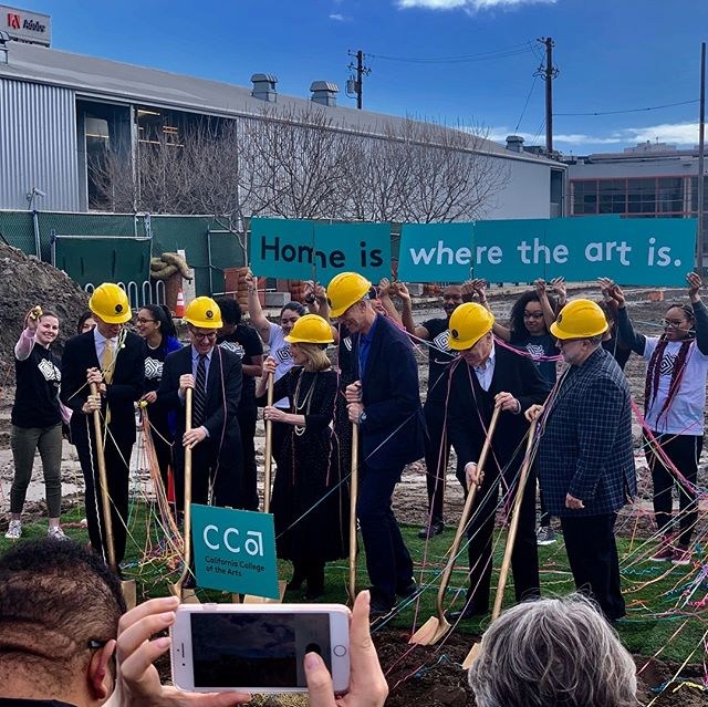 Congrats to our neighbors CCA for breaking ground on your new academic building and housing project that will provide more than 500 beds for students!