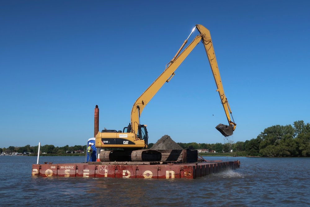 Braddock Bay, dredging, navigational channel, New York, Seaway Marine Group, The Wesson Group