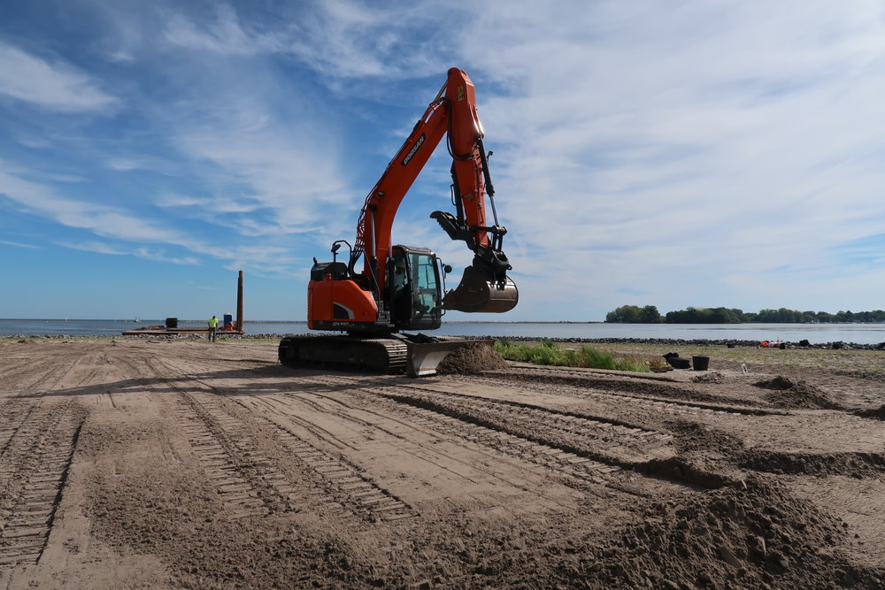 Heavy civil construction, Braddock Bay, site work, New York, Seaway Marine Group, The Wesson Group