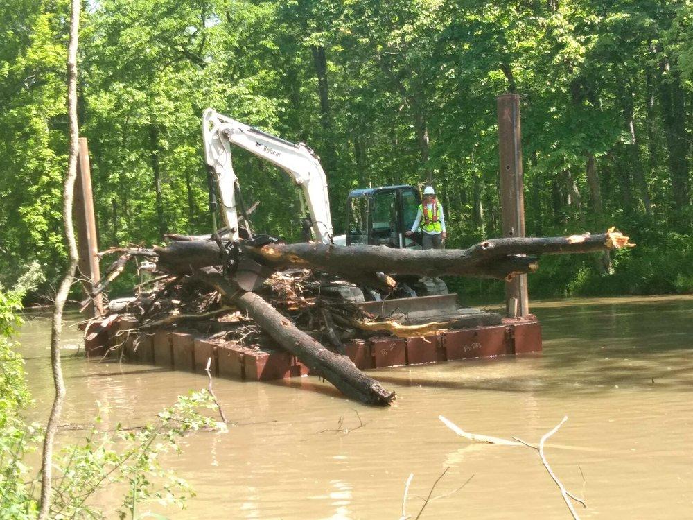 the pike company inc - OWASCO LAKE INLET CLEARING