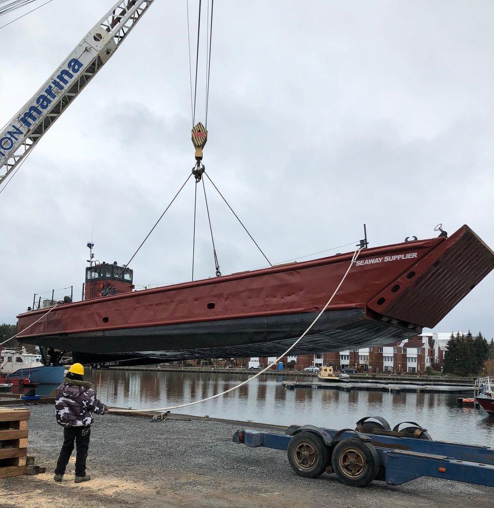 landing craft, marine transportation, Seaway Marine Group,