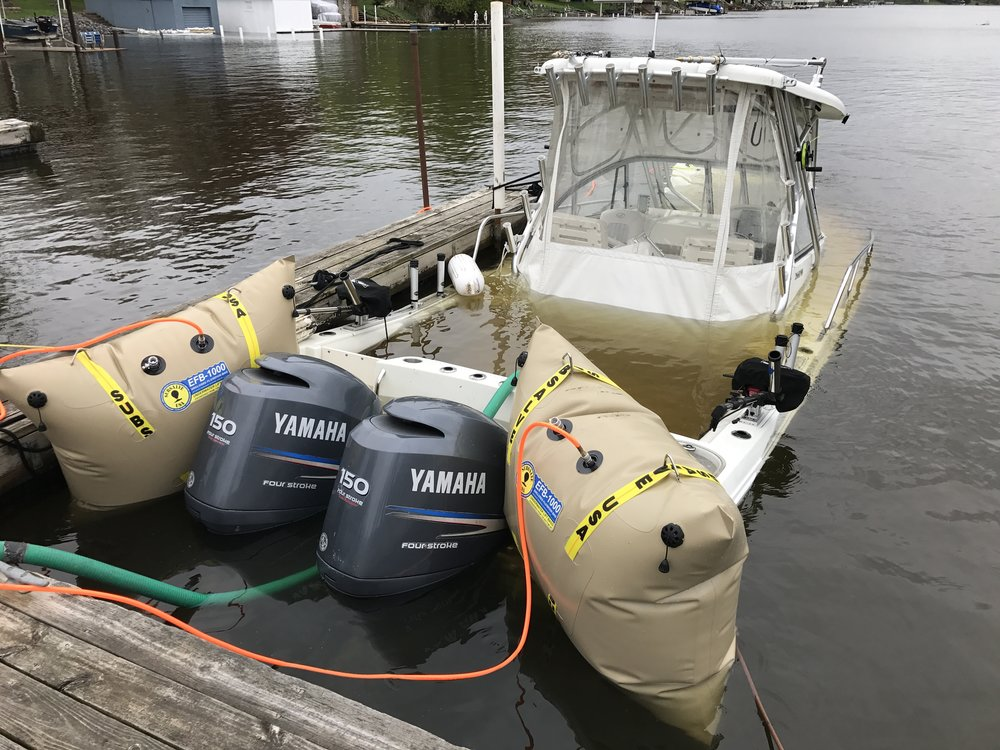 TowBoatU.S., refloat, sunk boat, salvage, marine assistance