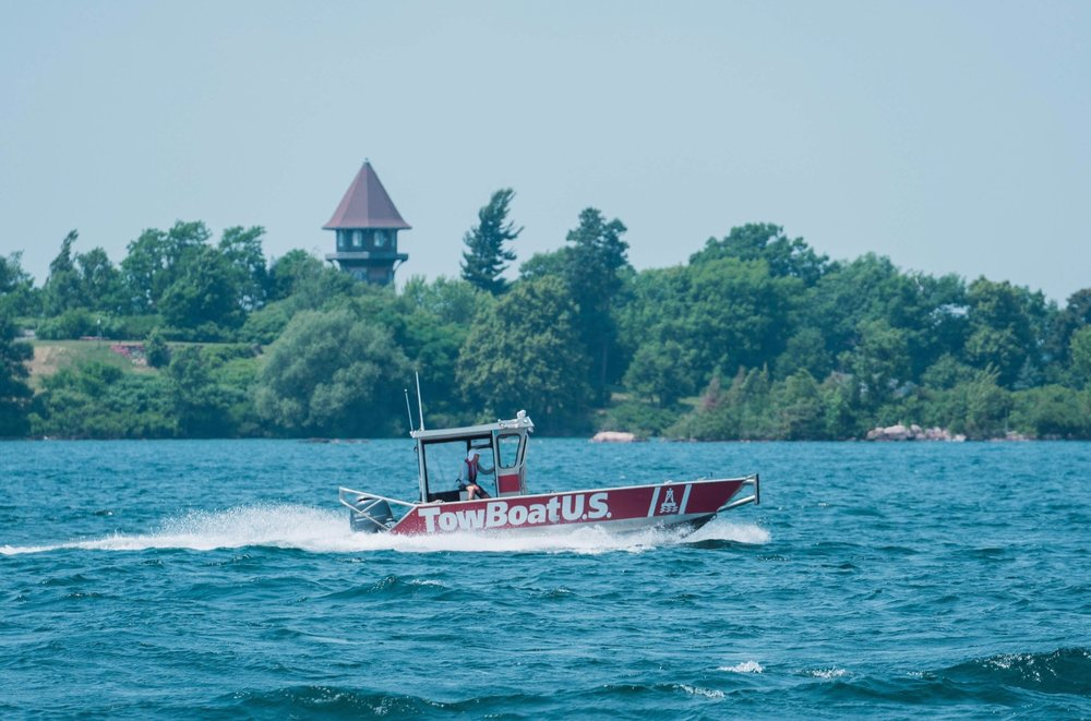 TowBoatU.S. Clayton, towing boats, Thousand Islands