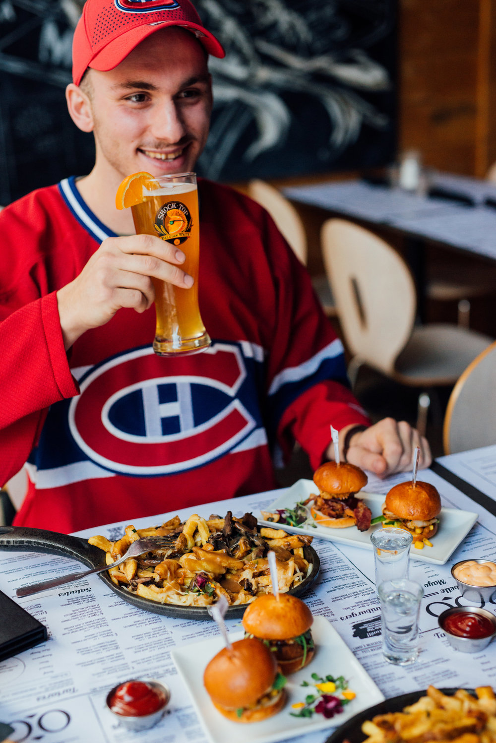 Match Canadiens TABOO Cuisine Rebelle