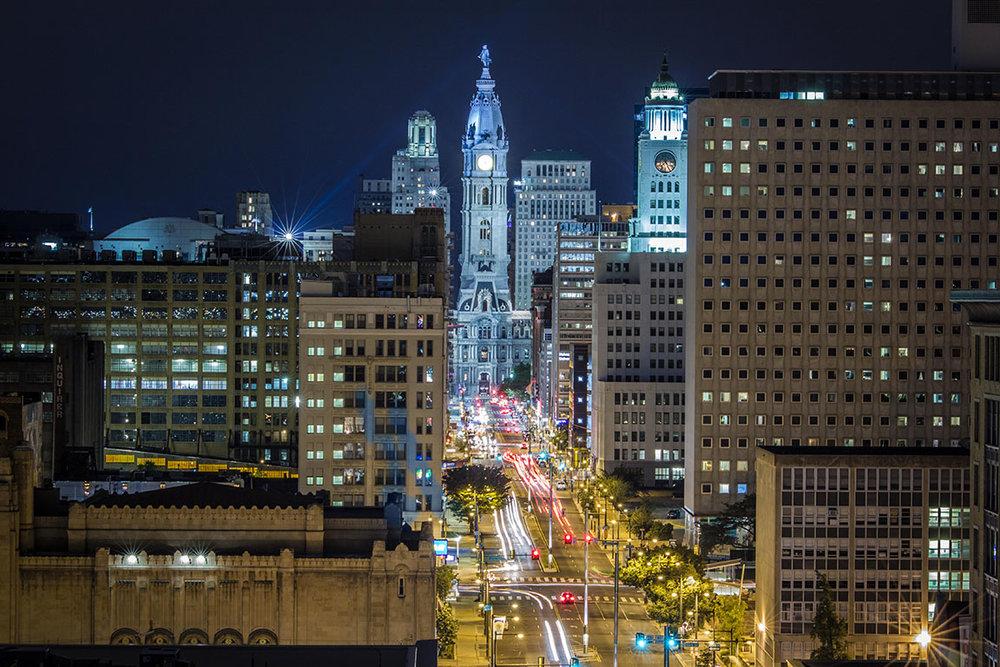 City Hall Glow