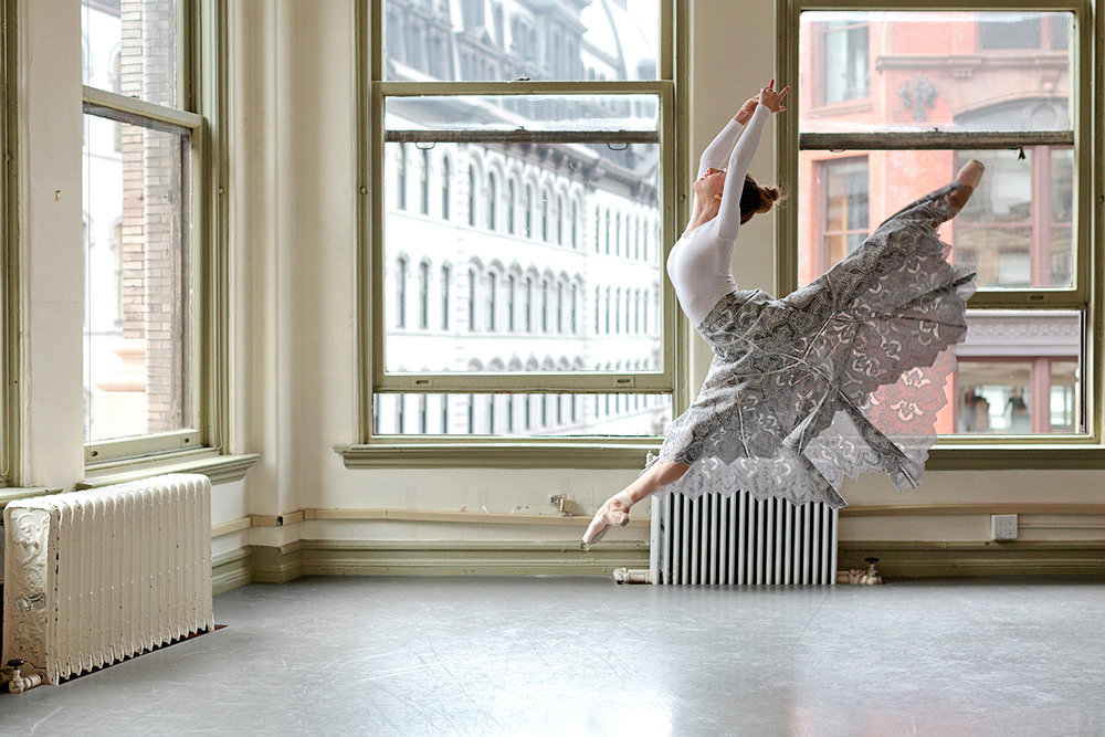 Isabella Boylston for  Glamour