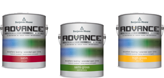 Advance Interior Paint - A premium quality, waterborne alkyd paint that offers a full line of durable high-end finishes ideal for doors, trim and cabinetry.Available in thousands of colours.Available in Matte, Pearl, Semi-Gloss and High Gloss finishes.Available in quart or gallon sizes.Quart Price: $31.99 + HSTGallon Price: $77.99 + HST