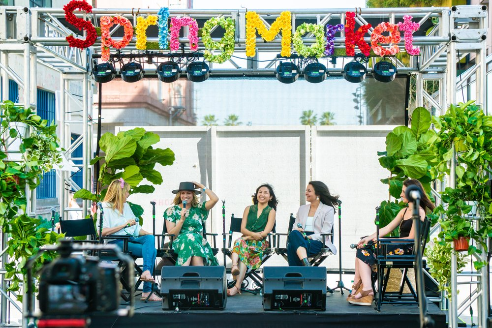 Panel Discussions - Be inspired by the stories and ideas of the women helping shape Los Angeles.