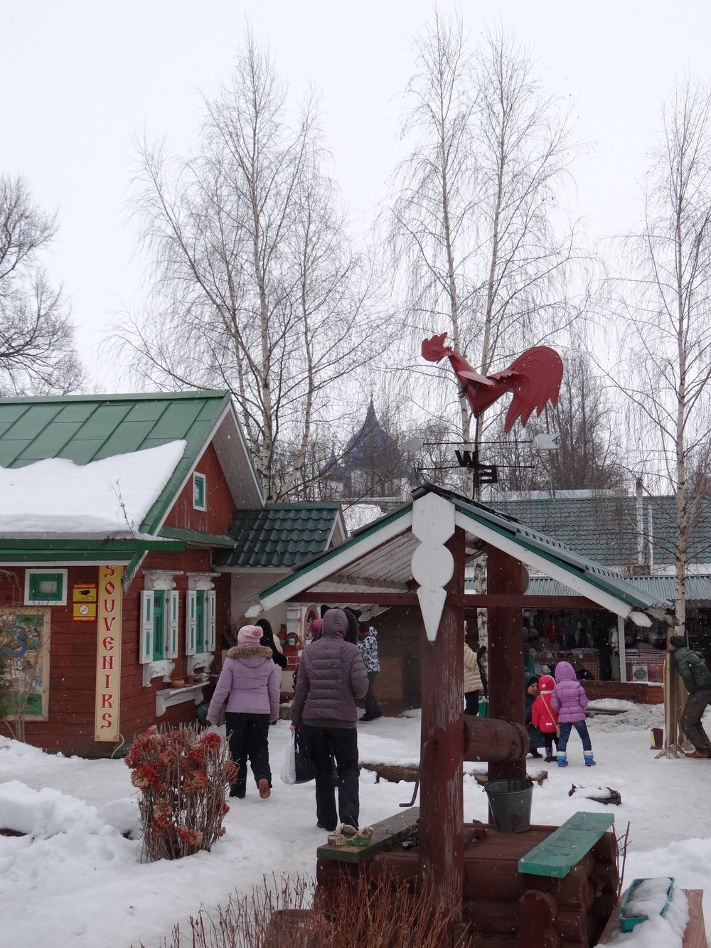 The restaurant Chainaya, our pick to eat in Suzdal