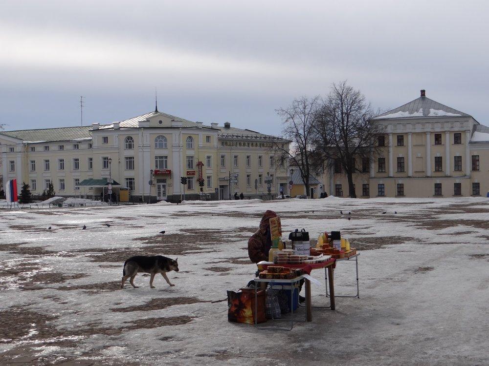 Suzdal's market square