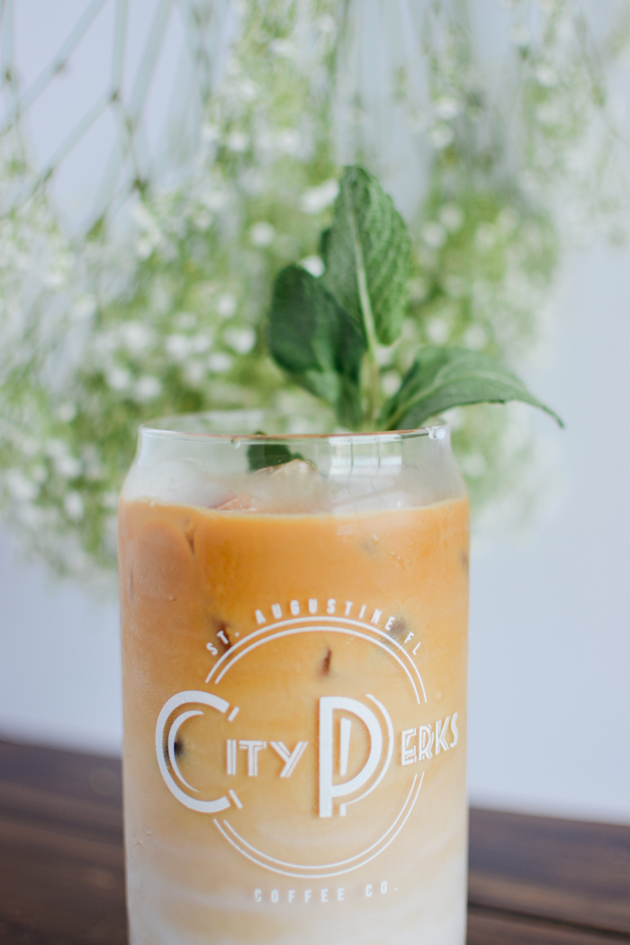 St. Patrick's Day Coffee Drink