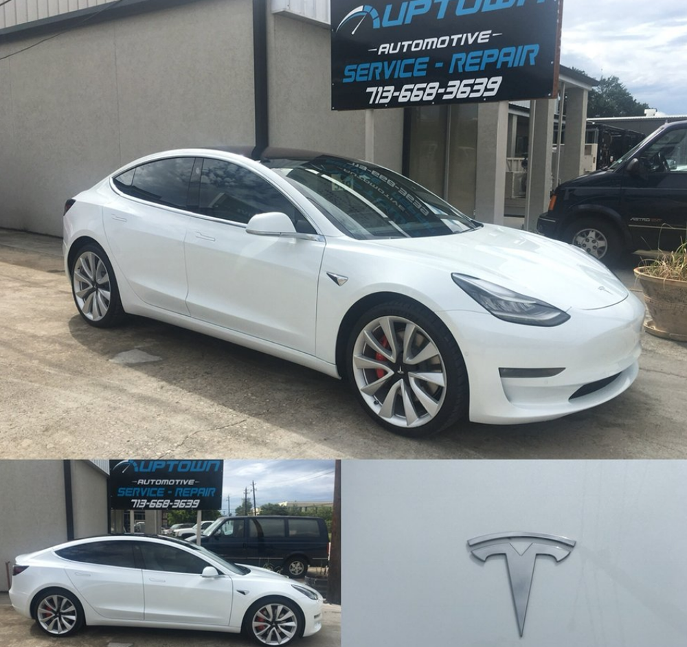 Tesla Repair Auto Body Shop Houston Tx