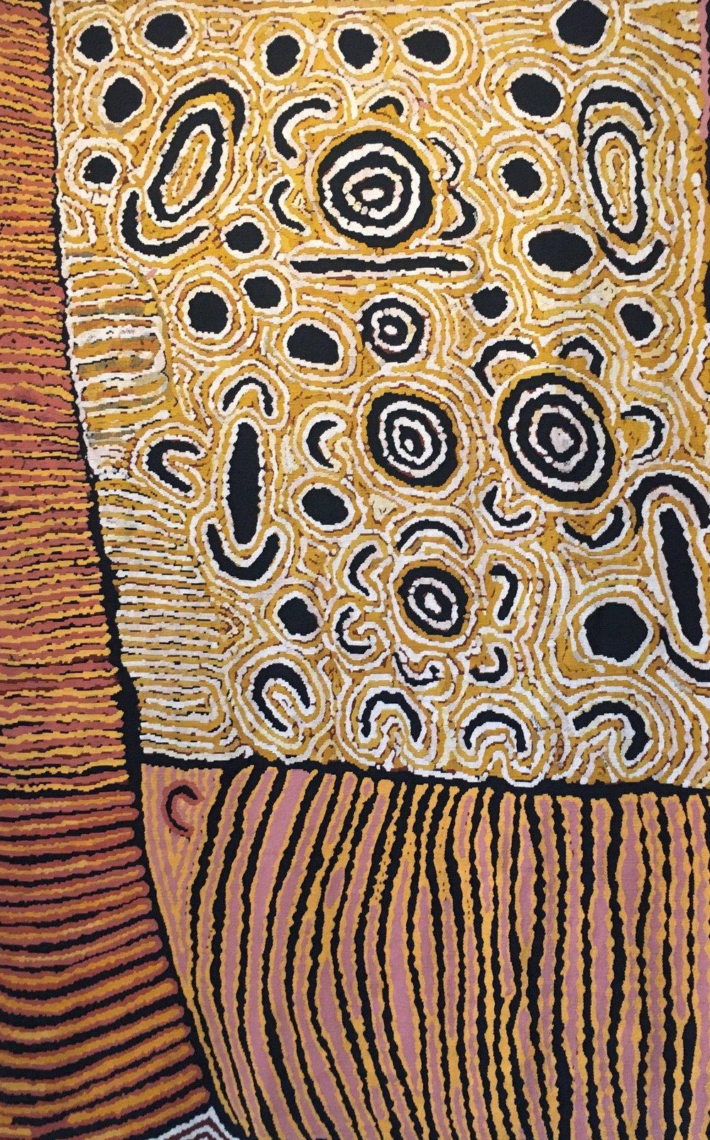 Original Artwork by Nanyuma Napangati