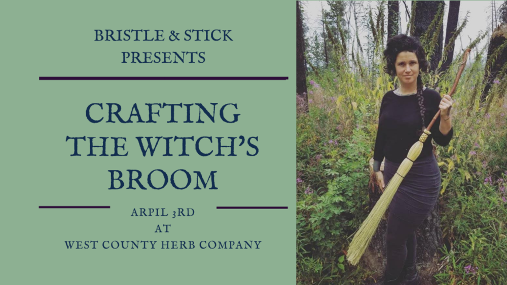 Making a Witch Broom with Bethany