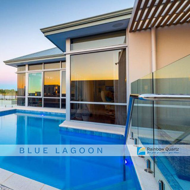 Colour focus. This is our Blue Lagoon quartz plaster. Let us help you choose a pool colour that makes the most of your space! ... #rainbow_quartz_aus #pool #sparkle #clean #colours #colourful #blue #swimming #swim #inspiration #getinspired #transformation #colourfocus #rainbow #RainbowQuartz #Quartz #plaster #stylish #keepitsimple #bluelagoon