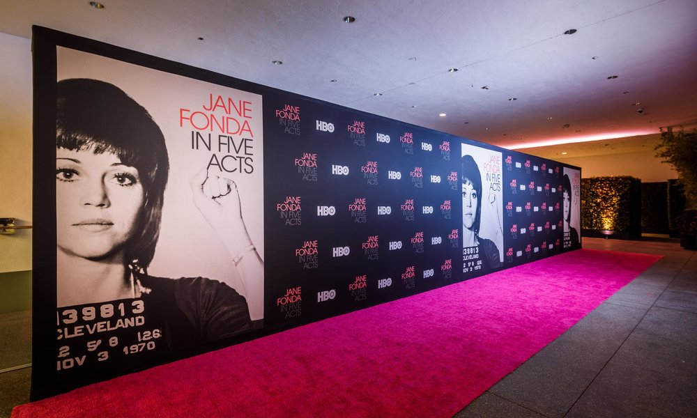 HBO Jane Fonda in Five Acts Premiere