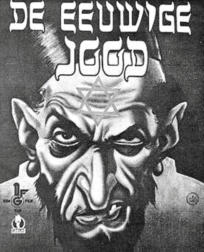 """Nazi propaganda sought to """"prove"""" that Jews were manipulative, depraved and a threat to the """"master race"""" (Aryan Germans). This film -  The Eternal Jew -  was presented as a documentary."""